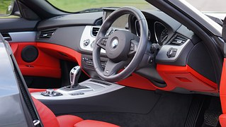inside look of a modern car