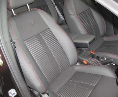 grey colored car seats