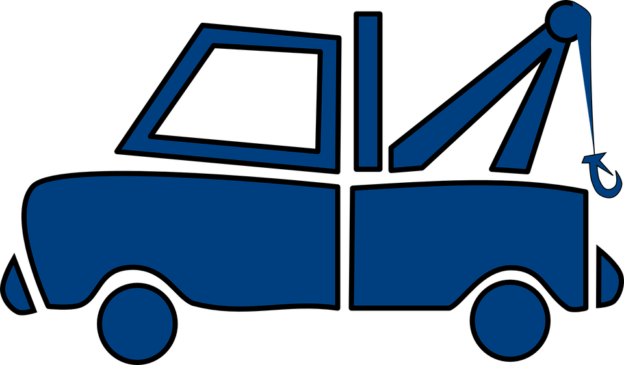 blue logo of a car