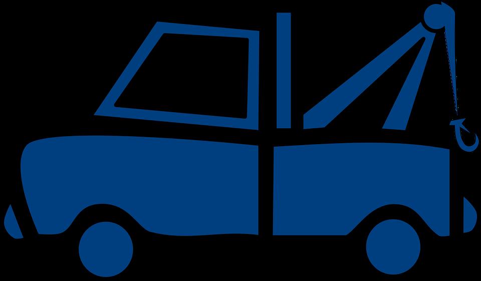blue logo of a car